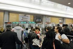 Ben Gurion lotnisko - Izrael Zdjęcie Stock