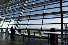 Ben Gurion (luchthaven in Tel Aviv, Israël) Royalty-vrije Stock Foto