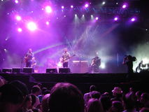 Ben Harper - festival de música de Locarno Fotografia de Stock