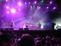 Ben Harper - Locarno musikfestival Arkivbild