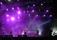 Ben Harper - Locarno musikfestival Arkivfoton