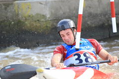 Ben Hayward - water slalom world championship Royalty Free Stock Photography