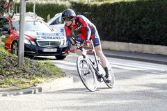 Ben Hermans Belgian Cyclist Stock Photos