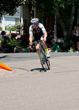 Ben Hill on Course at Stillwater Criterium Royalty Free Stock Images