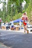 Ben Hoffman, Coeur d' Alene Ironman running event Stock Images