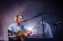Ben Howard. Performing at Longitude Festival 2014 in Dublin, Ireland Royalty Free Stock Photography
