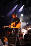 Ben Howard performing at Somersault Festival 2014 Royalty Free Stock Photography