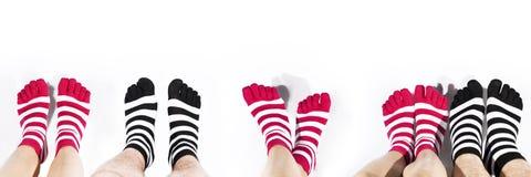 Ben i mode och moderna sockor Royaltyfria Foton