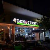 Ben & Jerry`s San Juan Stock Photos