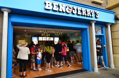 Ben & Jerrys Fotografering för Bildbyråer