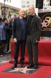 Ben Kingsley, Bruce Willis imagem de stock