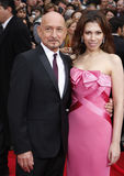 Ben Kingsley and Daniela Lavender Royalty Free Stock Photo