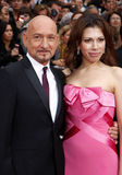 Ben Kingsley and Daniela Lavender stock photo