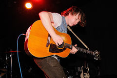 Ben Kweller concert at Barcelona Stock Photography