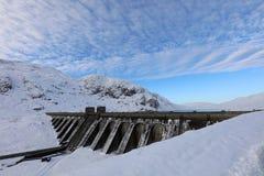 Ben Lawers Dam Scotland Imágenes de archivo libres de regalías