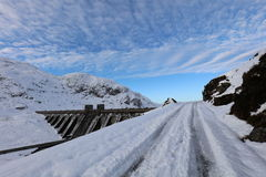 Ben Lawers Dam Scotland Imagem de Stock
