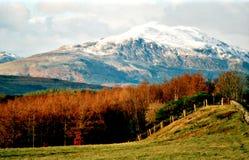 Ben Ledi Kilmahogl Near Callander. Stirlingshire,Scotland,UK.  Royalty Free Stock Photography