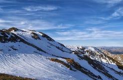 Ben Ledi na neve da mola, Escócia Fotos de Stock Royalty Free