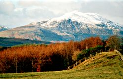 Ben Ledi near Callander. Royalty Free Stock Photography