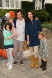 Ben Lee. And Ione Sky and children  at the Pottery Barn Kids Halloween Carnival Benfiting Operation Smile, Private Location, Los Angeles, CA. 10-23-10 Stock Image