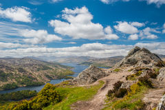 Ben A'an and Loch Katrine Stock Photos