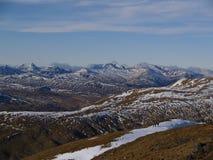 Ben Lomond de Ben Ledi, Escócia Fotos de Stock Royalty Free