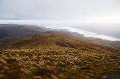 Ben Lomond negli altopiani scozzesi Immagini Stock Libere da Diritti
