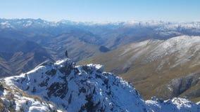 Ben Lomond | Queenstown | Nova Zelândia fotos de stock royalty free