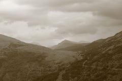 Ben Lorvich, Loch Lomond. View up to Ben Lorvich from Loch Lomond Royalty Free Stock Photos