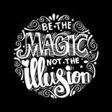 Ben magisch niet de illusie vector illustratie