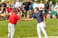Ben Martin and Andrew Svoboda at the Memorial Tournament Stock Photos
