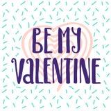 Ben mijn de stijlaffiche van Valentine Memphis Stock Foto