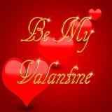 Ben mijn Valantine Stock Fotografie
