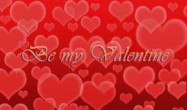 Ben mijn Valentijnskaart Royalty-vrije Stock Afbeeldingen