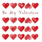 Ben Mijn Valentijnskaart Stock Afbeeldingen