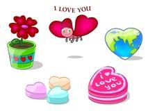 Ben mijn valentijnskaart! Stock Foto