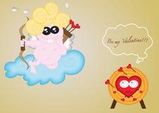 Ben mijn Valentine Stock Afbeelding