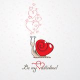 Ben mijn Valentine Royalty-vrije Stock Foto