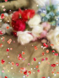 Ben mijn Valentine, mooie groetkaart Stock Foto