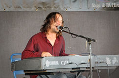 Ben mills in concert Royalty Free Stock Photo