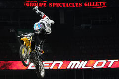 Ben milot free style motocross Royalty Free Stock Photography