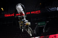 Ben milot free style motocross Royalty Free Stock Images