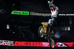 Ben milot free style motocross Stock Photos
