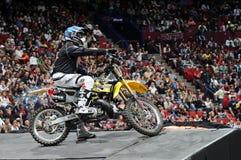 Ben milot free style motocross Stock Images