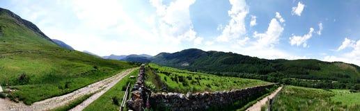 Ben Nevis στη σκωτσέζικη ορεινή περιοχή Στοκ Εικόνα