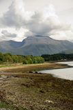 Ben Nevis. A view of Ben Nevis, the UK's highest mountain stock image