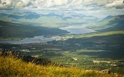 Άποψη από το ben Nevis Στοκ Φωτογραφίες