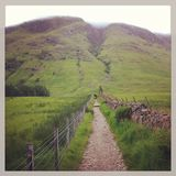 Ben Nevis Approach Royalty Free Stock Photo