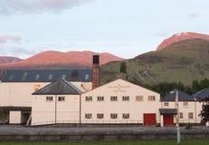 Ben Nevis Distillery Visitor Centre Skottland arkivfoton