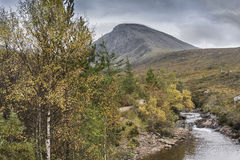 Ben Nevis North face & stream in Scotland. Stock Images